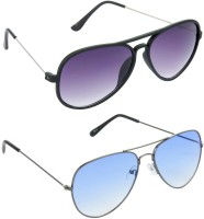 Hrinkar HCMB335_1 Aviator Sunglasses(For Boys)