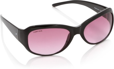 Fastrack P186PR2F Rectangular Sunglasses(Pink)