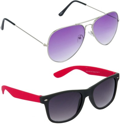 Red Leaf RCMB187_1 Aviator, Wayfarer Sunglasses(For Boys)