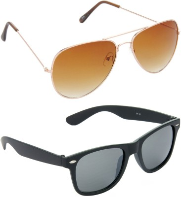 Red Leaf RCMB022_1 Aviator, Wayfarer Sunglasses(For Boys)