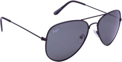 Floyd W123_BLK_GREY Aviator Sunglasses(Grey)