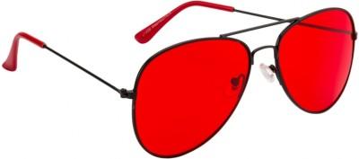 Crazy Eyez Retro Aviator Sunglasses
