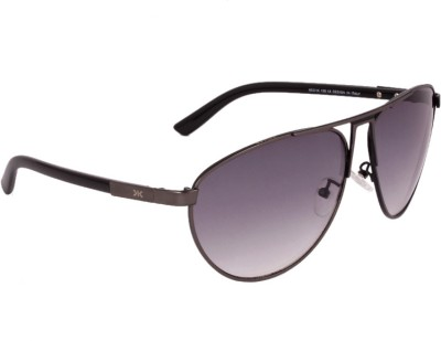 Killer KL3003 GUN Aviator Sunglasses(Grey) image