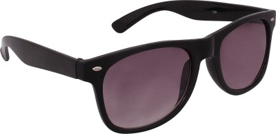Qwerty Black Wayfarer Sunglasses