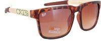 Sushito JSMFHGO0538 Wayfarer Sunglasses(Brown)