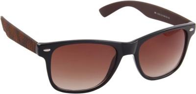 Farenheit 1210-C3 Wayfarer Sunglasses(Brown)