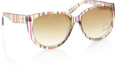 Fastrack PC004BR1F Wayfarer Sunglasses(Brown)