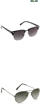 Bellina Aviator, Round Sunglasses
