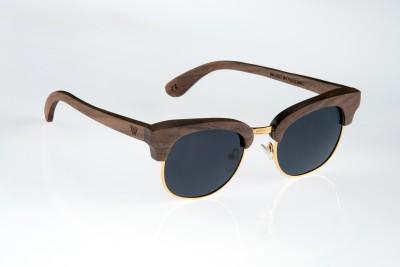 WOOD WORKS INC. K2 Rectangular Sunglasses