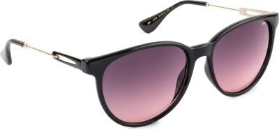 Farenheit FA-2206-C1 Oval Sunglasses(Pink) at flipkart