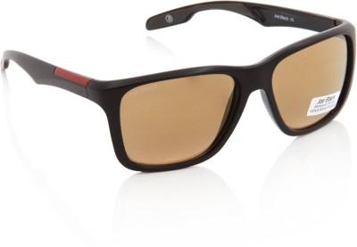 Joe Black JB-622-C4 Wayfarer Sunglasses(Brown)