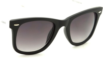 IDEE IDEE-1928-C10 Wayfarer Sunglasses(Black, Green)