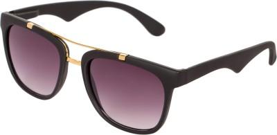 ZOZAN INTERNATIONAL 701 Wayfarer, Aviator, Rectangular, Sports, Over-sized Sunglasses(Black) at flipkart