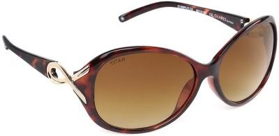 Glares by Titan G188PLFLTA Over-sized Sunglasses