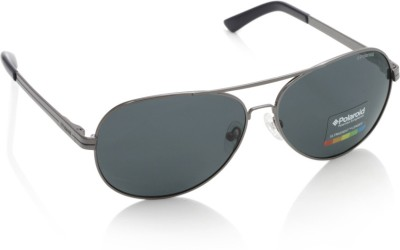 Polaroid F4400B Aviator Sunglasses(Blue)