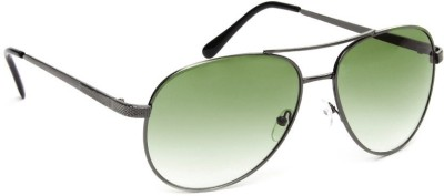 Olvin OL255-03 Aviator Sunglasses(Green)