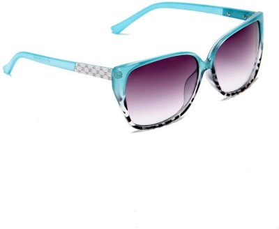 New Zovial Ocean Rectangular Sunglasses