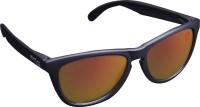 Omtex ClassyRed Sports Sunglasses(Red Multicolor)
