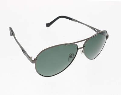 Vast 5042men_women_polarized_Black_Aviator Aviator Sunglasses(Grey)