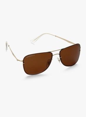 Joe Black JB-756-C1P Rectangular Sunglasses(Brown)