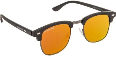 Danny Daze D-2000-C12 Round Sunglasses(Yellow)