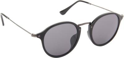 Farenheit 1216-C2 Round Sunglasses(Grey)