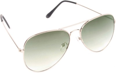 6by6 SG259 Aviator Sunglasses(Green)