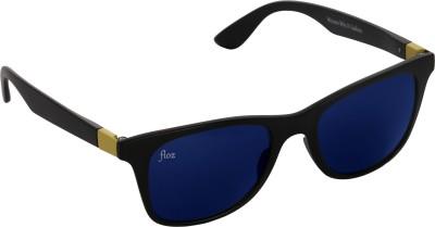 Floz 007SM Met Black Wayfarer Sunglasses. Rectangular Sunglasses