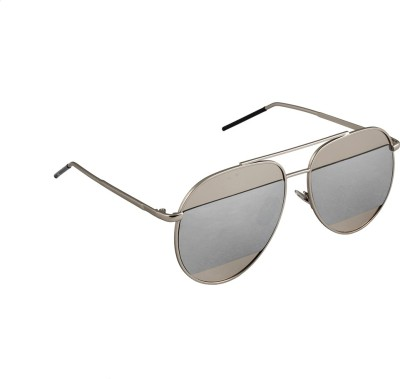 6by6 SG1667 Aviator Sunglasses(Grey)