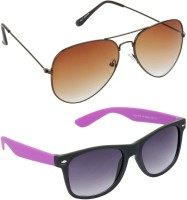 Red Leaf RCMB384_1 Aviator Wayfarer Sunglasses(For Boys)