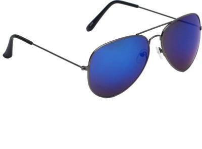 6by6 SG1460 Aviator Sunglasses(Blue)