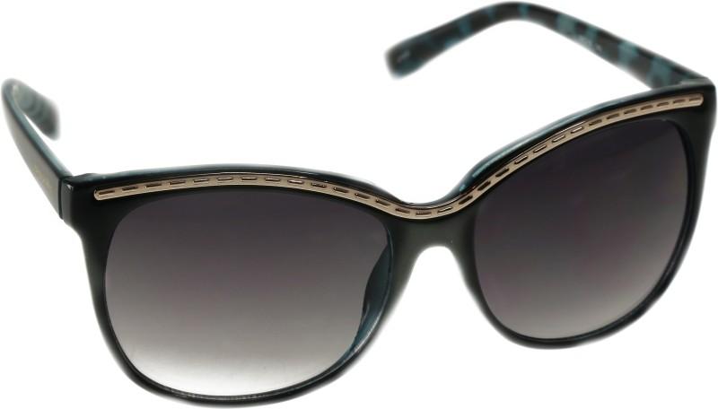 Mango Pickles R-2012-Blue Wayfarer Sunglasses(Black)
