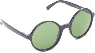 6by6 SG483 Round Sunglasses(Green)