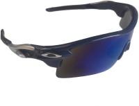 Attitude Works Blue2 Wayfarer Sunglasses(Blue)