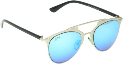 I-GOG Aviator Blue Mirror Aviator Sunglasses