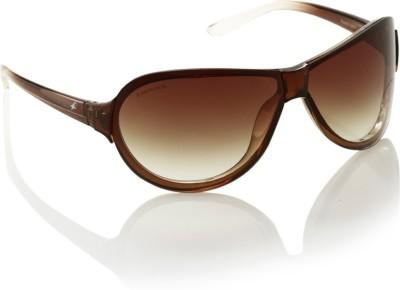 Fastrack P349BR2 Sunglasses(Brown)