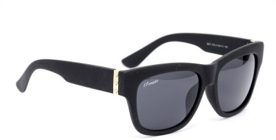 Amaze AM1053 Wayfarer Sunglasses(Black)