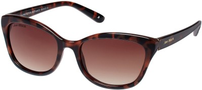 Joe Black JB-573-C2 Cat-eye Sunglasses(Brown)