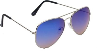 6by6 SG1454 Aviator Sunglasses(Blue)