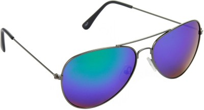 Red Leaf RD-BX141_1 Aviator Sunglasses(Blue)