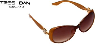 Tres Ban Over-sized Sunglasses