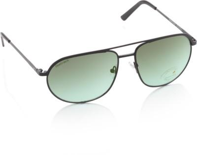 Fastrack M129GR2 Rectangular Sunglasses(Green)