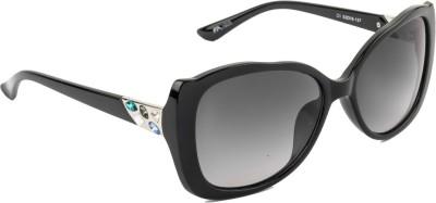 Farenheit FA-1605-C1 Over-sized Sunglasses(Grey)