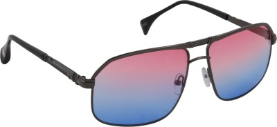 Petrol Rectangular Sunglasses