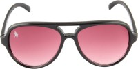 Royal County Of Berkshire Polo Club SNL1437CL-015 Wayfarer Sunglasses(Pink)