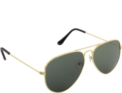 IRAYZ 1262 Aviator Sunglasses(Green)