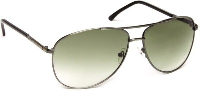Olvin OL256-03 Aviator Sunglasses(Green)