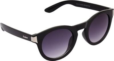 Escobar Retro Naut Oval Sunglasses