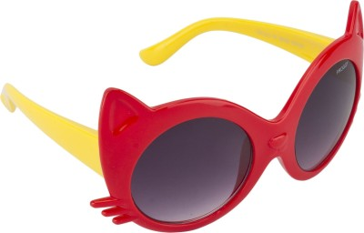 Froggy FG-06-RD Round Sunglasses(For Girls)