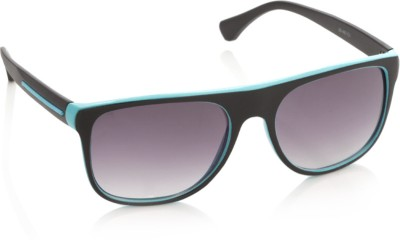 Joe Black JB-487-C1 Rectangular Sunglasses(Violet)